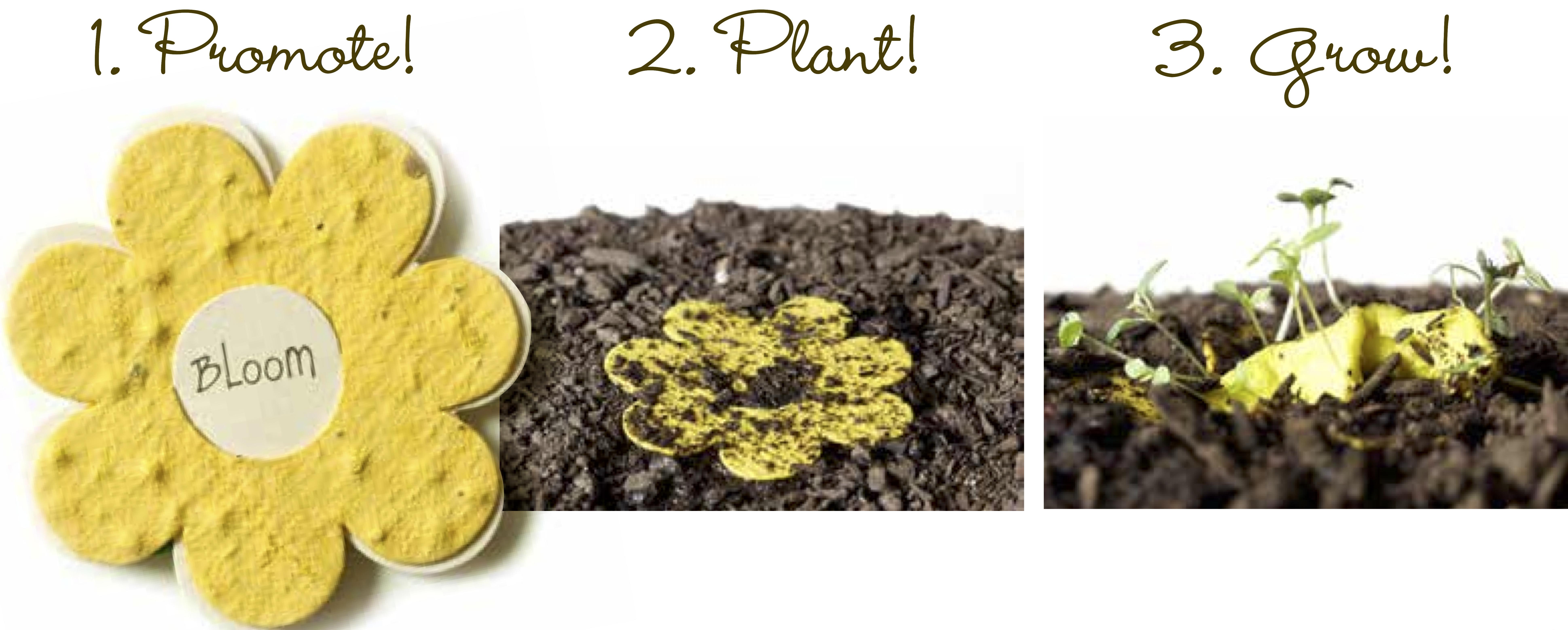 Organic plantable seeded paper plantablecards promoteplantgrow mightylinksfo