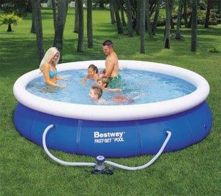 Instalación de piscinas en los jardines