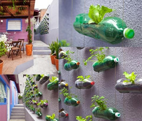 Construir un jardín colgante
