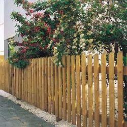 Cuidados de las vallas de madera