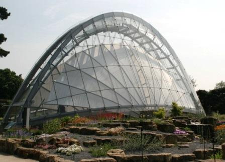 El invernadero alpino de Kew (Londres)