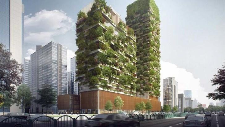 La moda de los bosques verticales