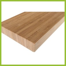 Sample picture of a bamboo solid vertical coffee 19mm panel