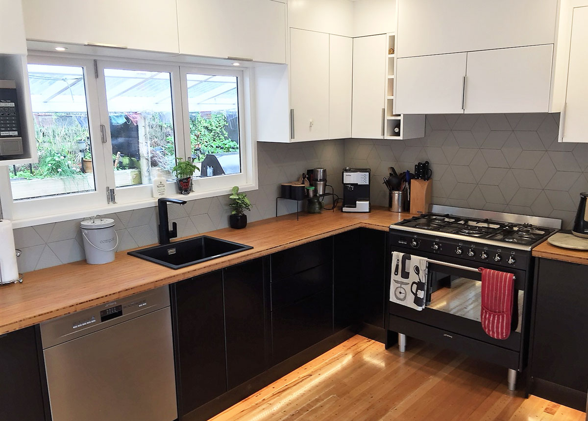 Bamboo kitchen joinery nz made