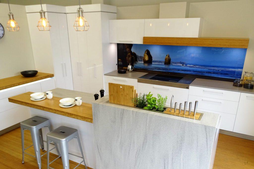 NZ Bamboo kitchen