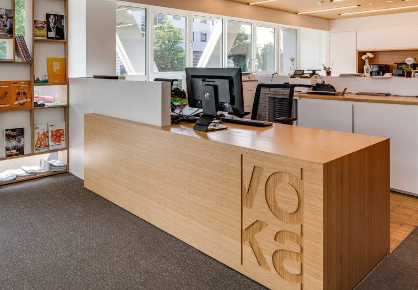 Bamboo shop interior joinery nz