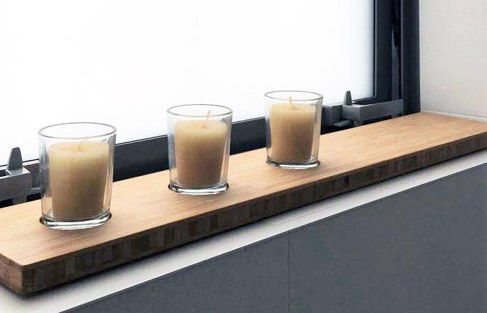 shelves made from bamboo nz