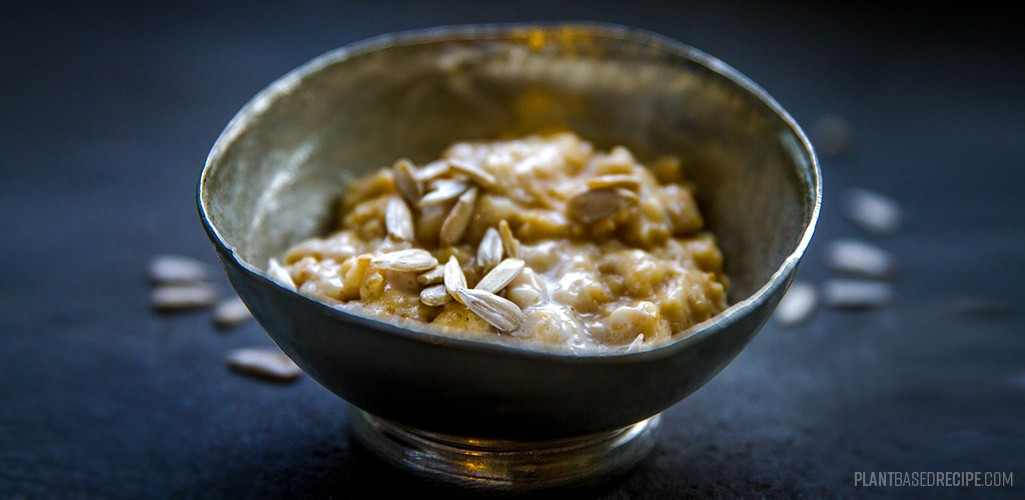 Ginger oatmeal recipe