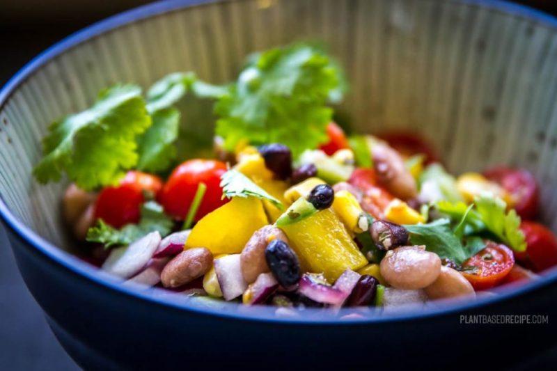 Cowboy caviar is an inexpensive vegan dish