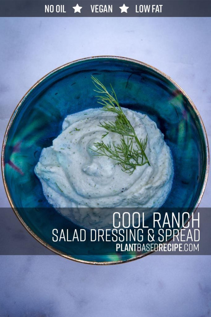 Pin this ranch dressing on Pinterest to save it for later