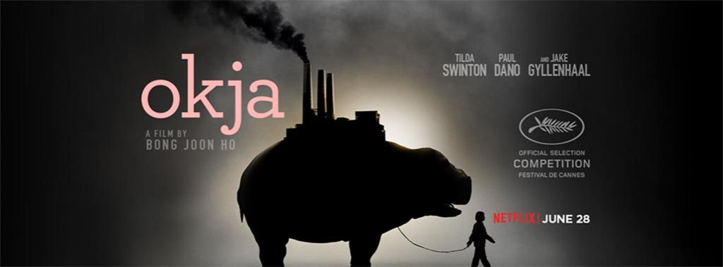 Vegan movie Okja on netflix