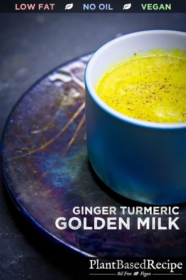 Vegan Golden Milk Recipe