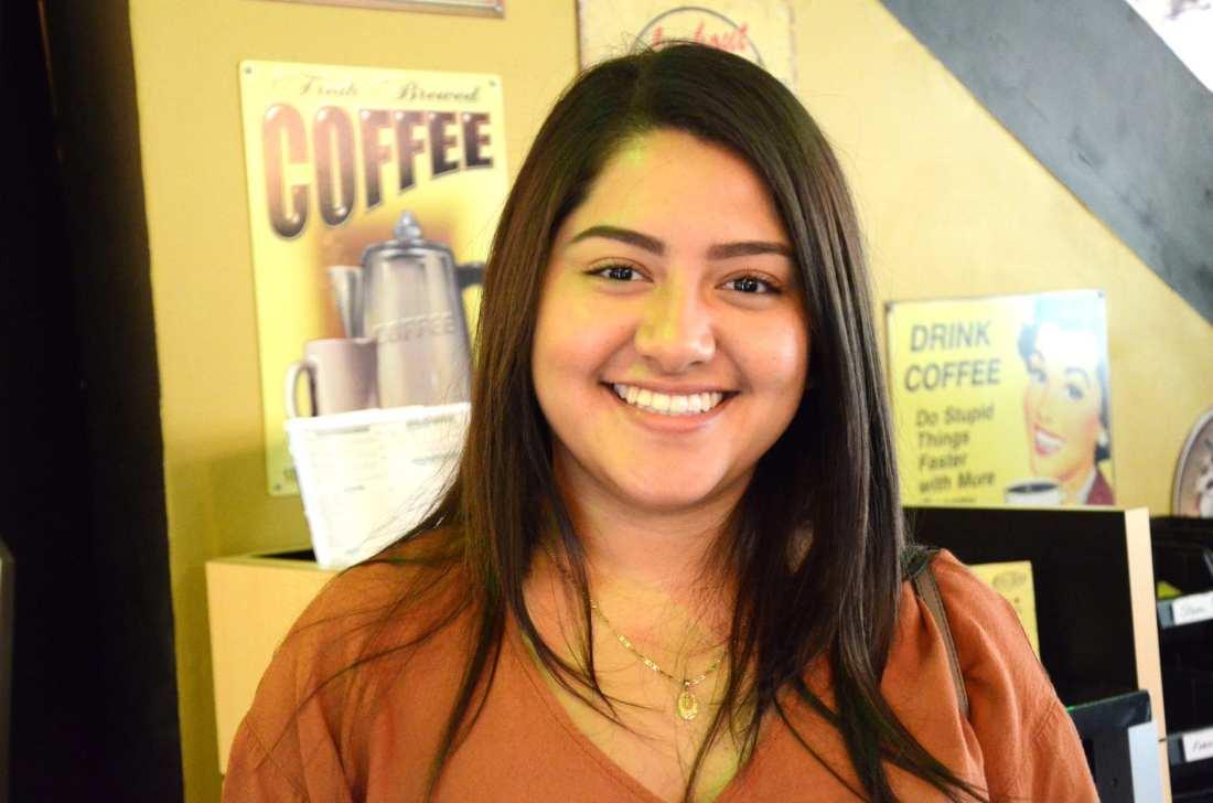 """""""Giraffes."""" — Monica Guzman, 18"""