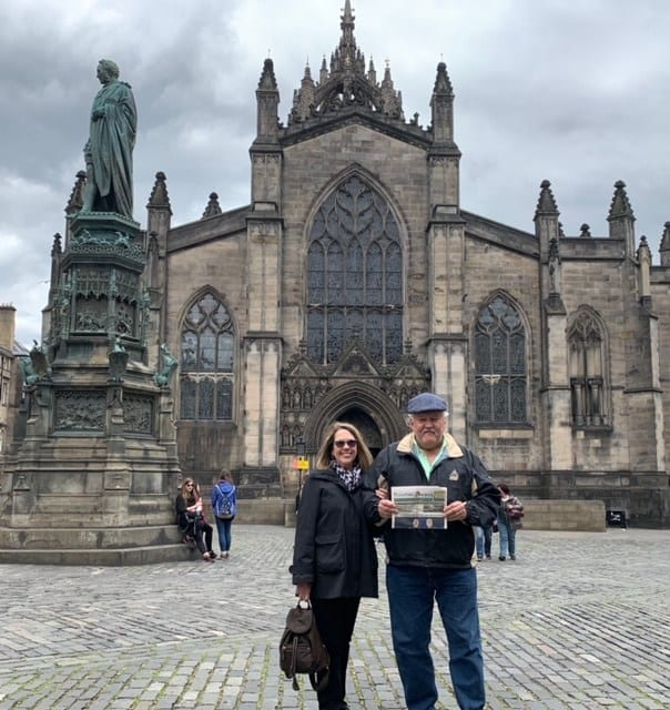 Dave and Kathe Moore - Scotland