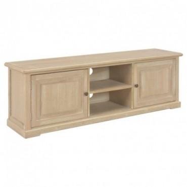 meuble tv classique en bois 120x30x40cm