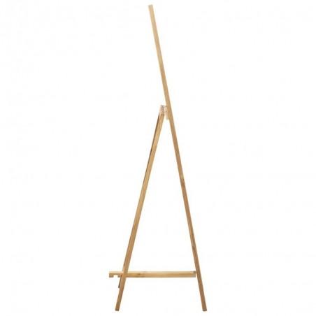 miroir sur pied bois de chene solide 48x46 5x150cm