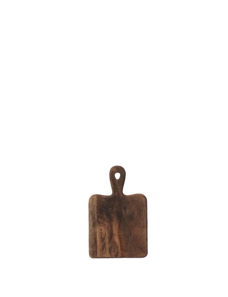 planche a decouper rectangle bois marron fonce small