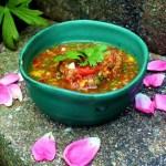 Mango Cilantro Salsa Vegan Plant Based Recipe Planted365.com