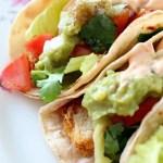 vegan fried chicken tacos