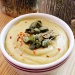 Lemon Caper Hummus Vegan Plant-Based Recipe Planted365.com