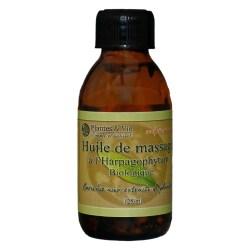 Huile de massage à l'Harpagophytum biologique