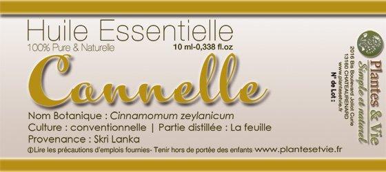 Huile Essentielle de Cannelle