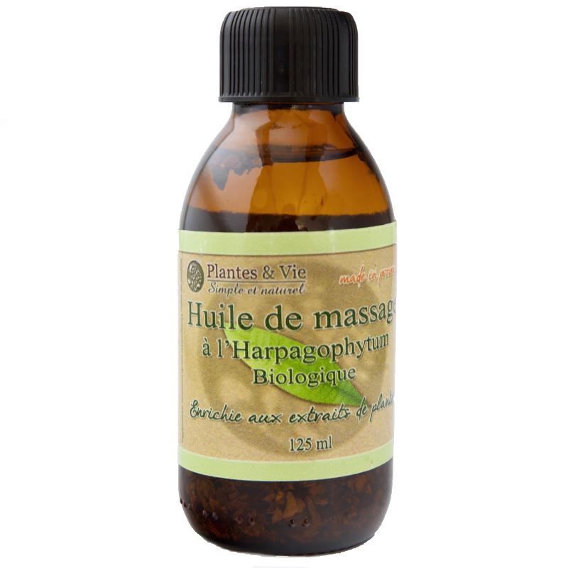 Huile de Massage à l'Harpagophytum