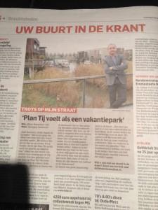 Plantij in de krant 8 dec 2014