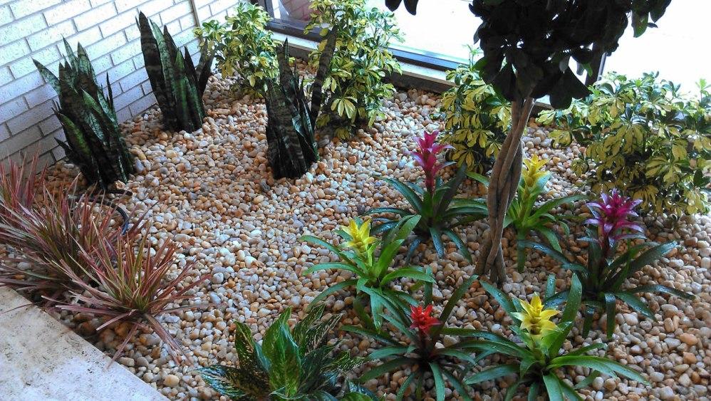 After flower bed