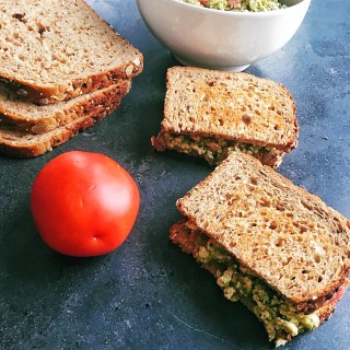 Tofu Pesto Sandwich