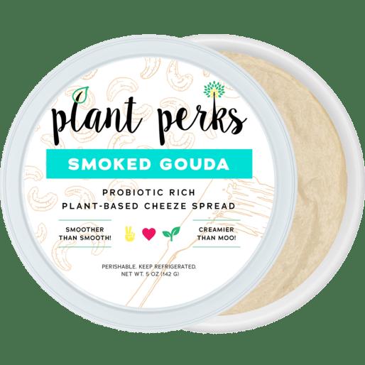 Smoked Gouda Vegan Nut Cheeze Cutout