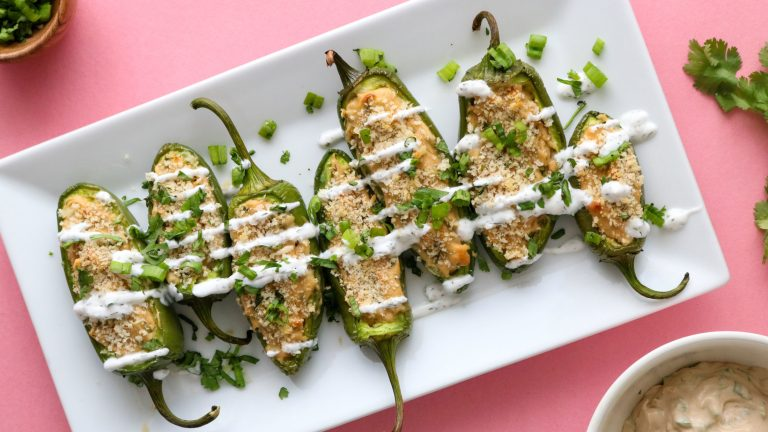 Vegan Jalapeño Poppers Recipe