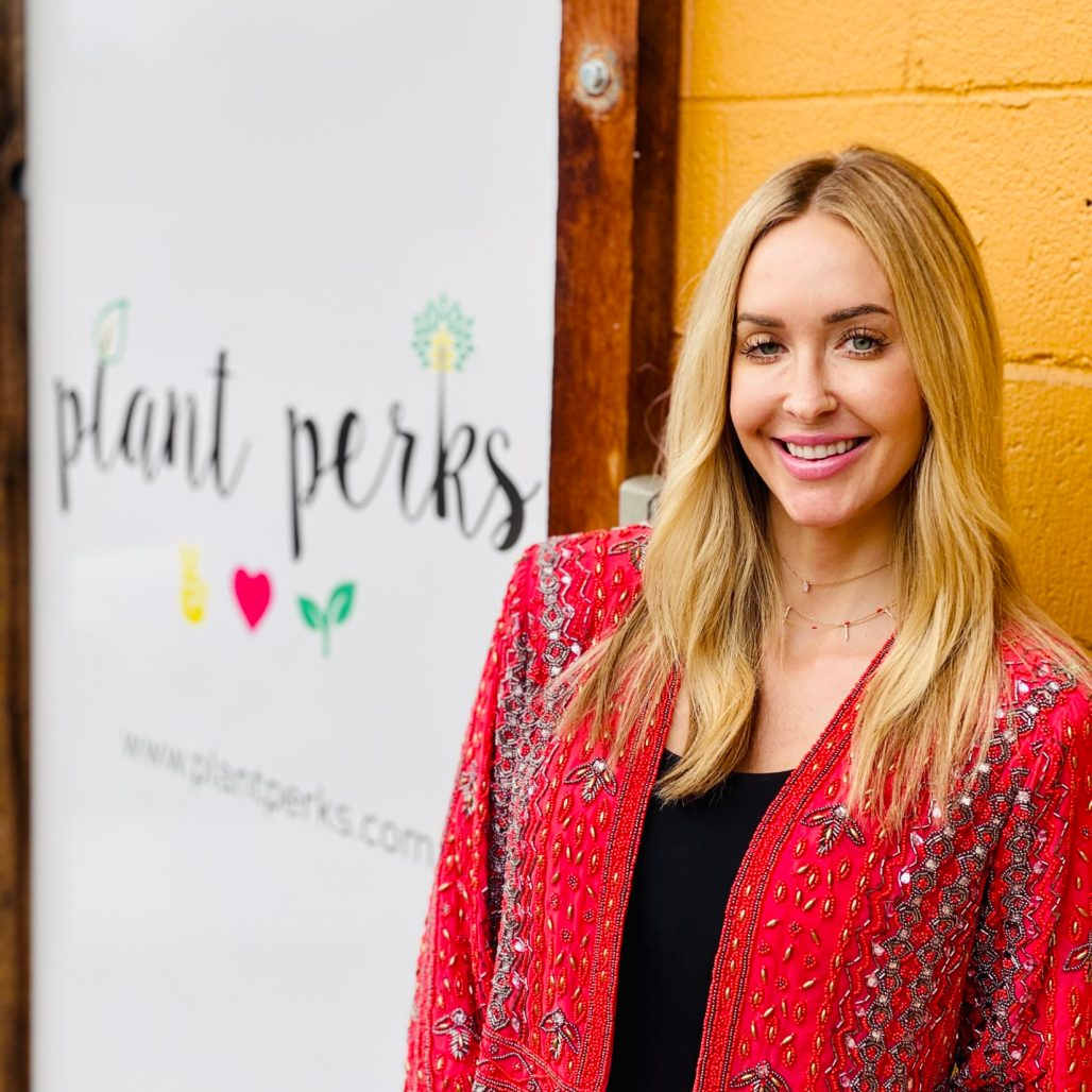 Tiffany Perkins Plant Perks CEO Founder and Chef