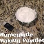 Aluminum Free Baking Powder