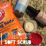 DIY Thieves Soft Scrub- a game changer!