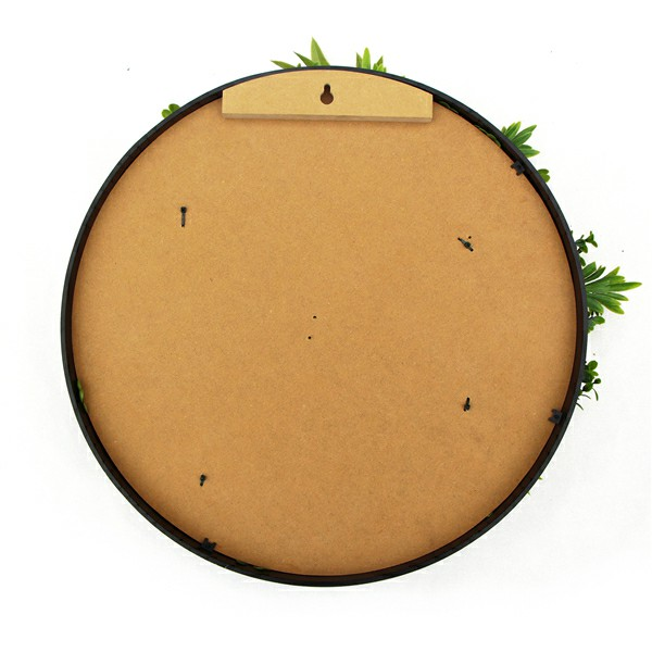 back of artificial plant disk