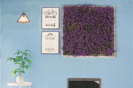 artificial hedges frame decor