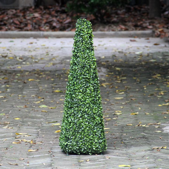 artificial-topiary-boxwood-cone-trees-outdoor