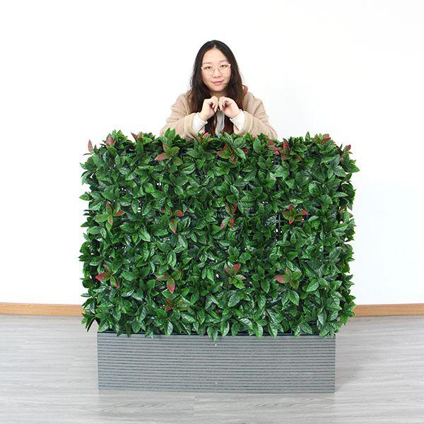 A002 artificial photinia hedge planters