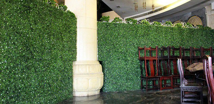 A036 artificial box hedging landscaping