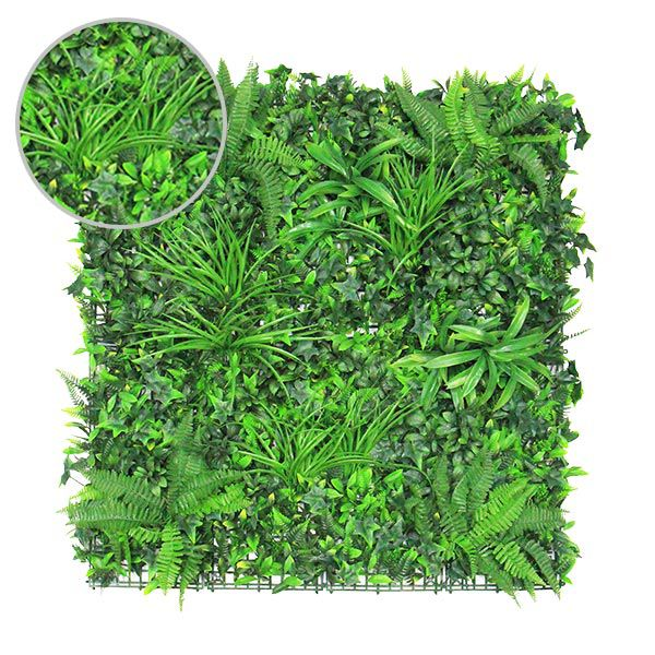 Artificial Wall Plants Panels with Ivy Bush