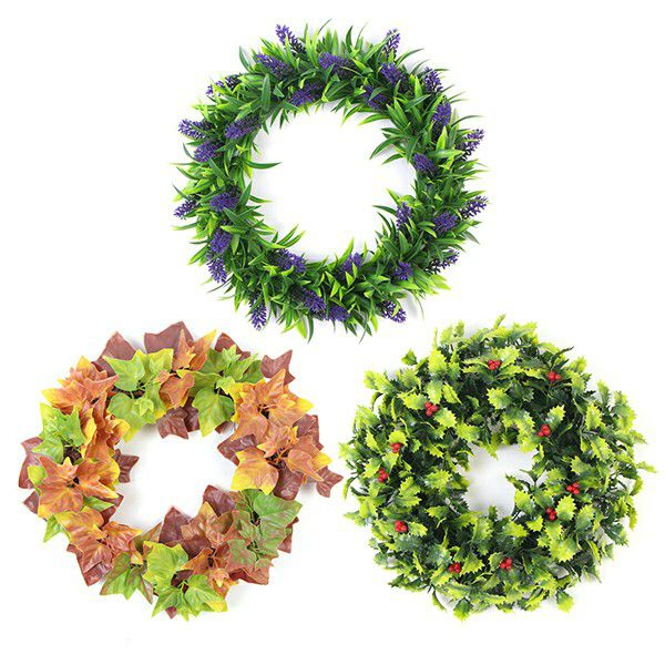 Stylish Front Door Wreaths Collection