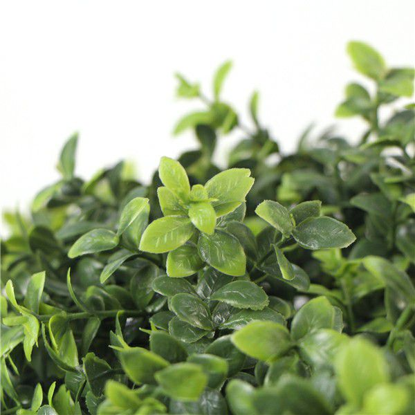 artificial boxwood topiary leaves
