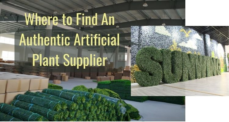 Where to Find An Authentic Artificial Plant Supplier