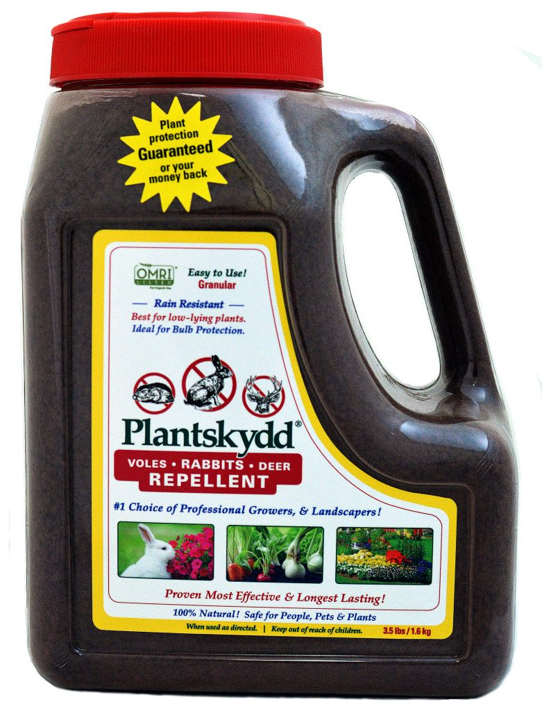 Plantskydd Rabbits Voles Deer Granular Repellent 3.5 lb