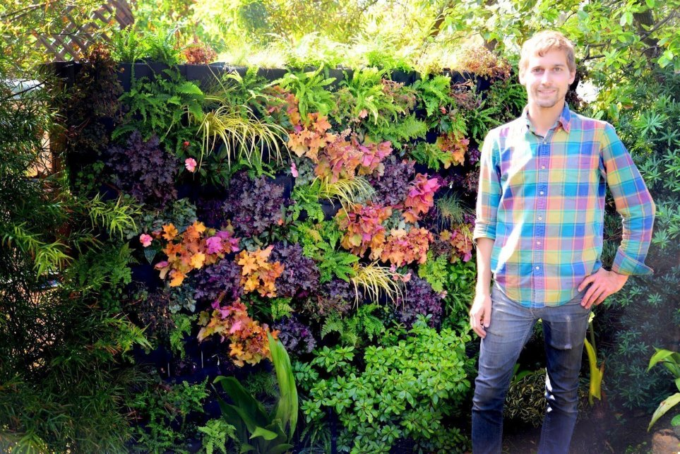 Brandon Pruett Living Green Design Florafelt System