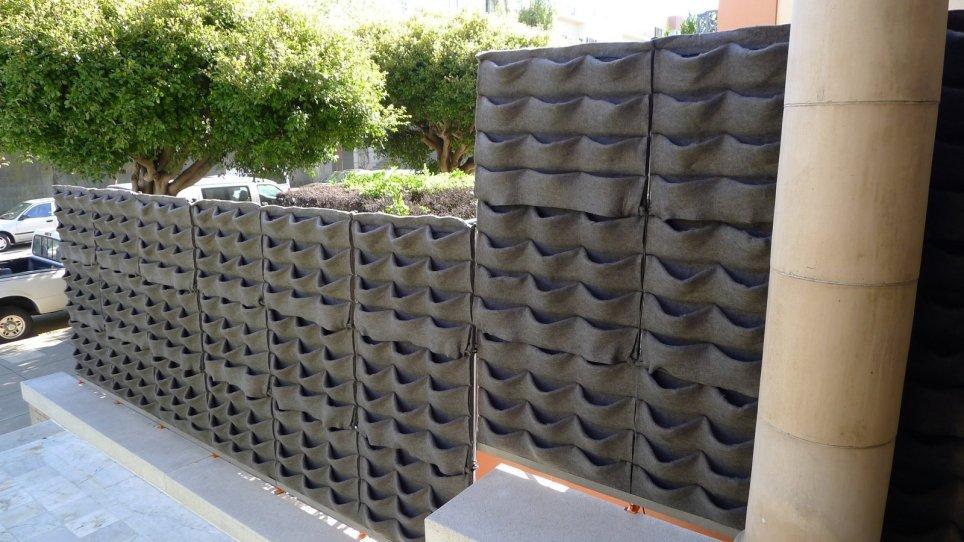 Chris Bribach, Plants On Walls. Decorator Showcase 2012. Florafelt Vertical Garden Planters.