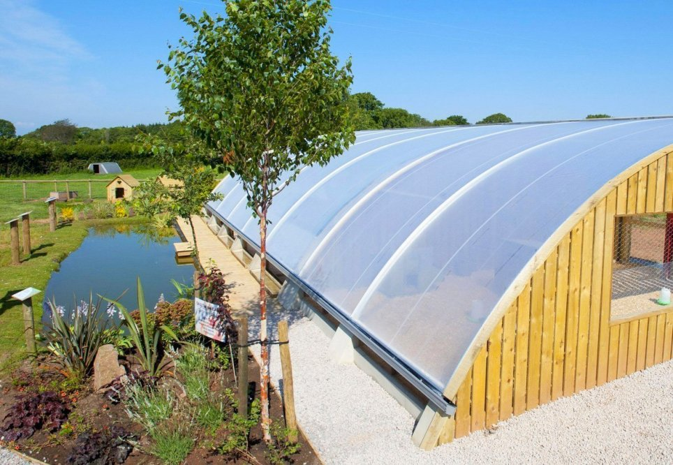 Aquaponics Greenhouse by Kate Humble, Humble by Nature, UK.