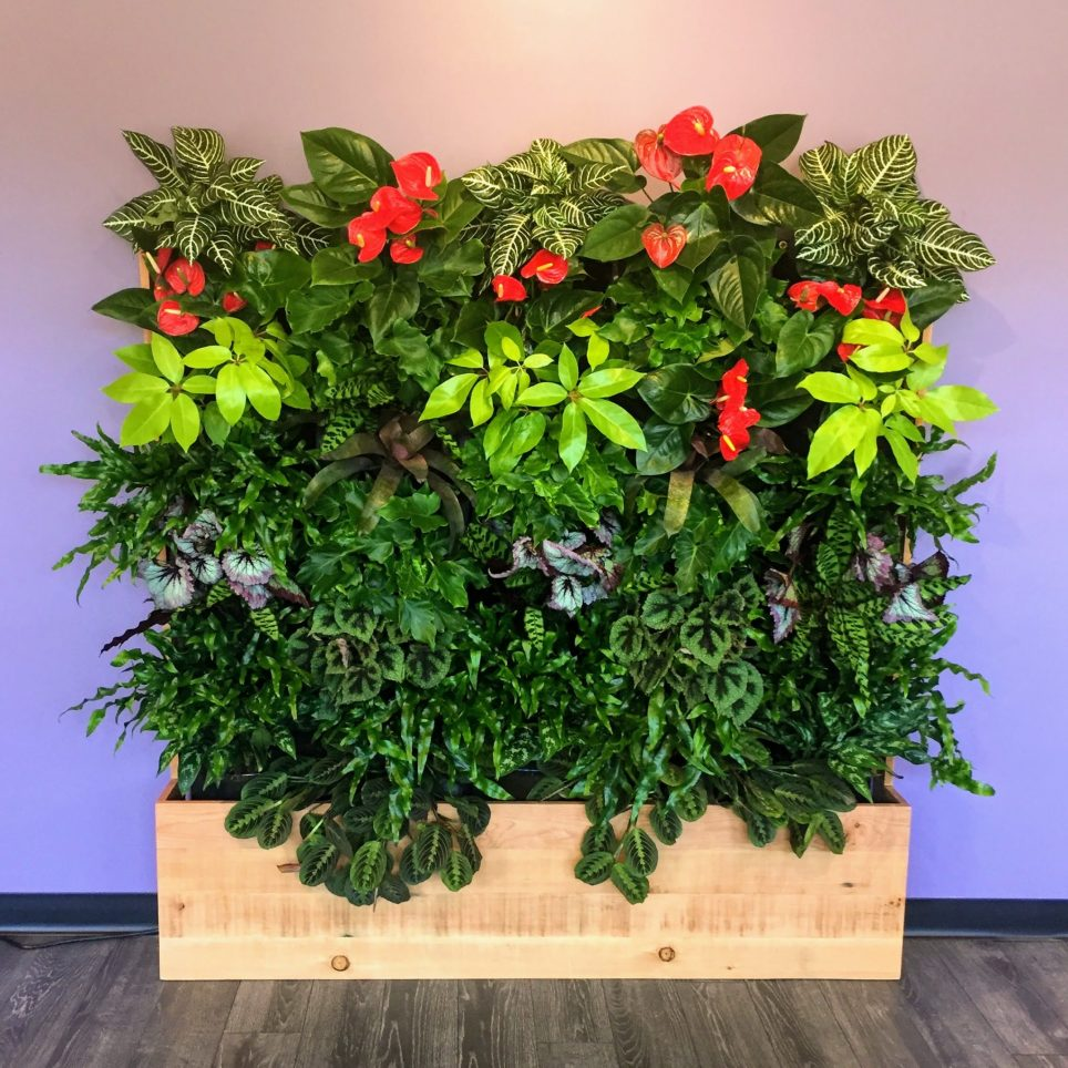Florafelt® Compact Kits vertical garden by Rebecca Sheedy, Floraform Design, Seattle.