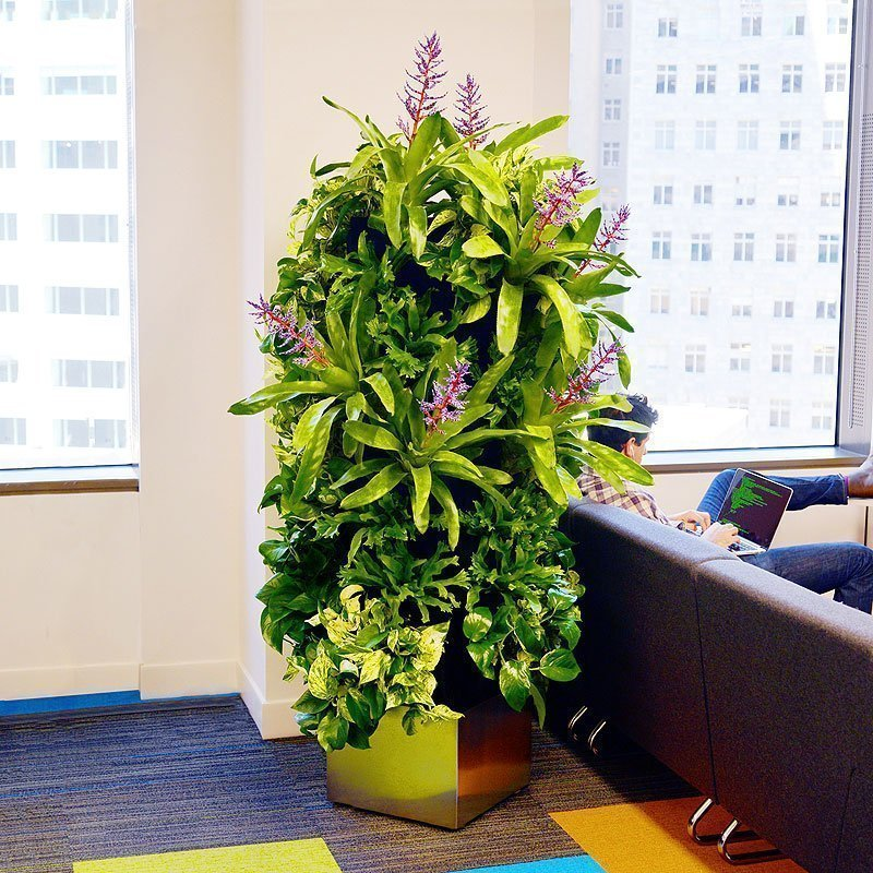Florafelt 32-Pocket Plant Tower for Trifacta San Francisco